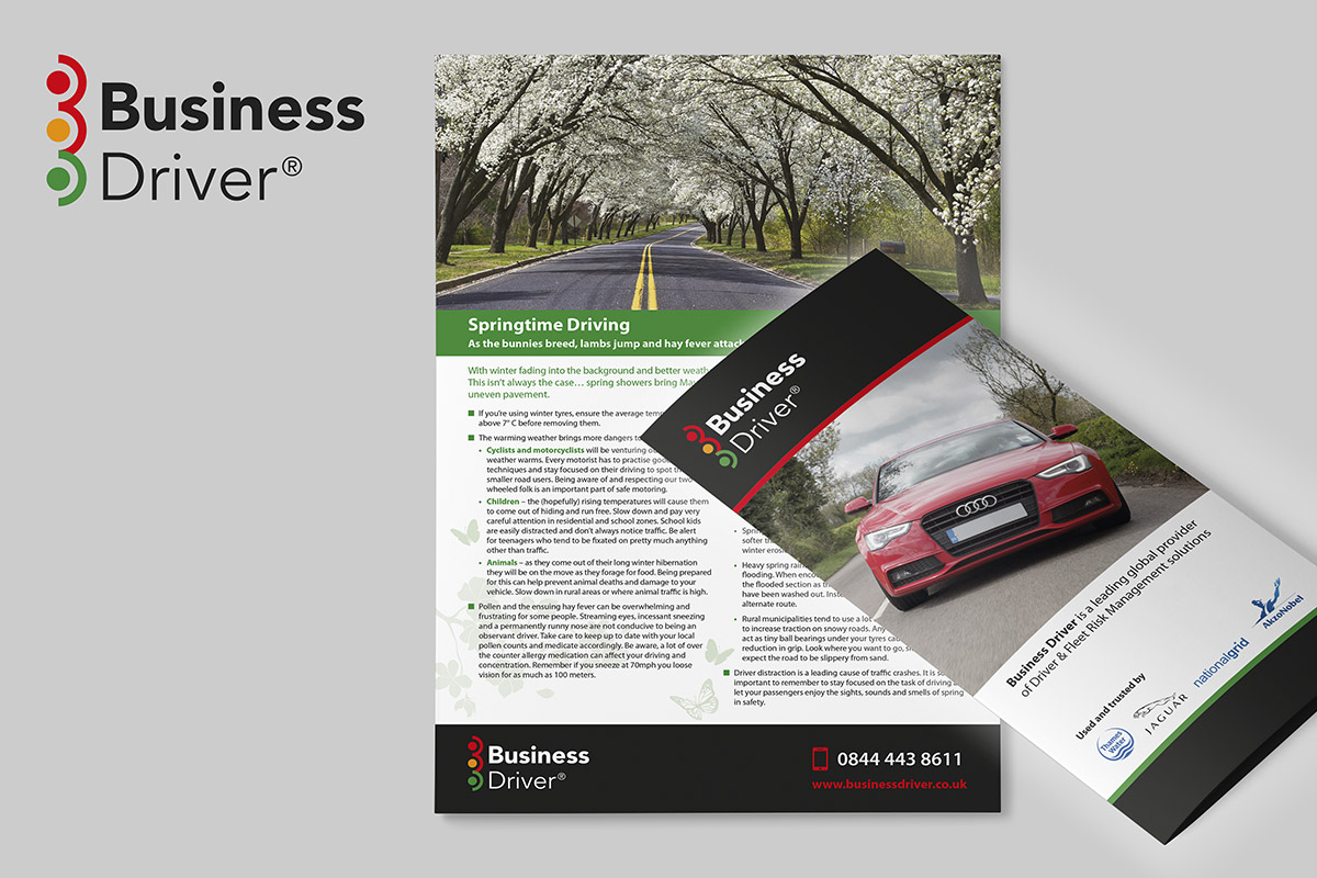 TA2 Design – Business Driver Branding