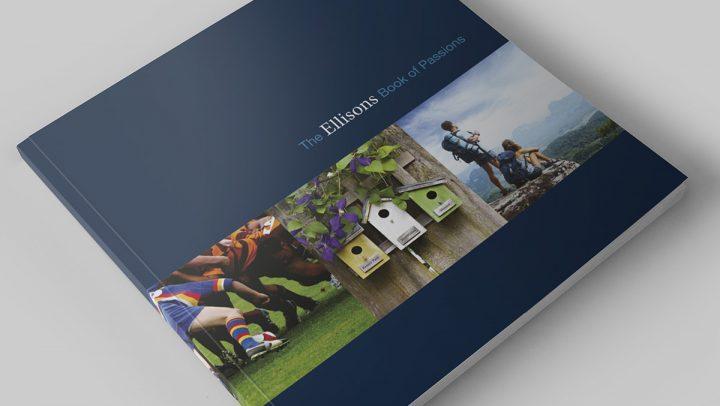 TA2 Design – Ellisons Brochure Cover