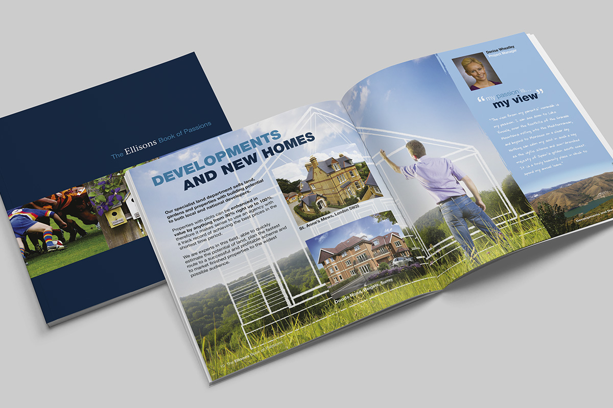 TA2 Design – Ellisons Brochure Spread