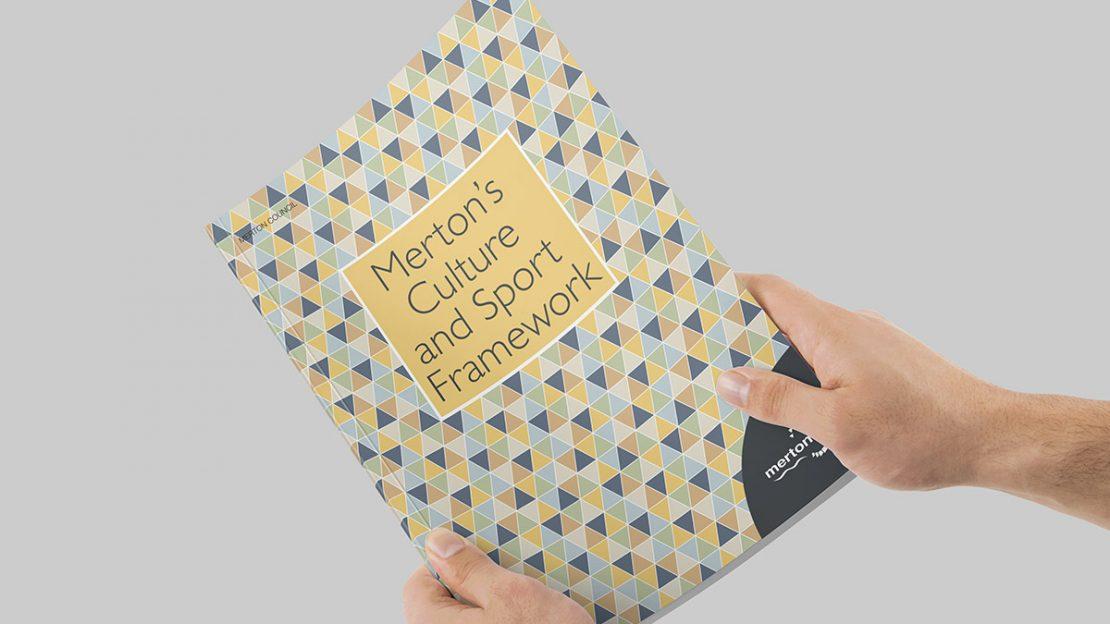 TA2 Design – London Borough of Merton Brochure Cover