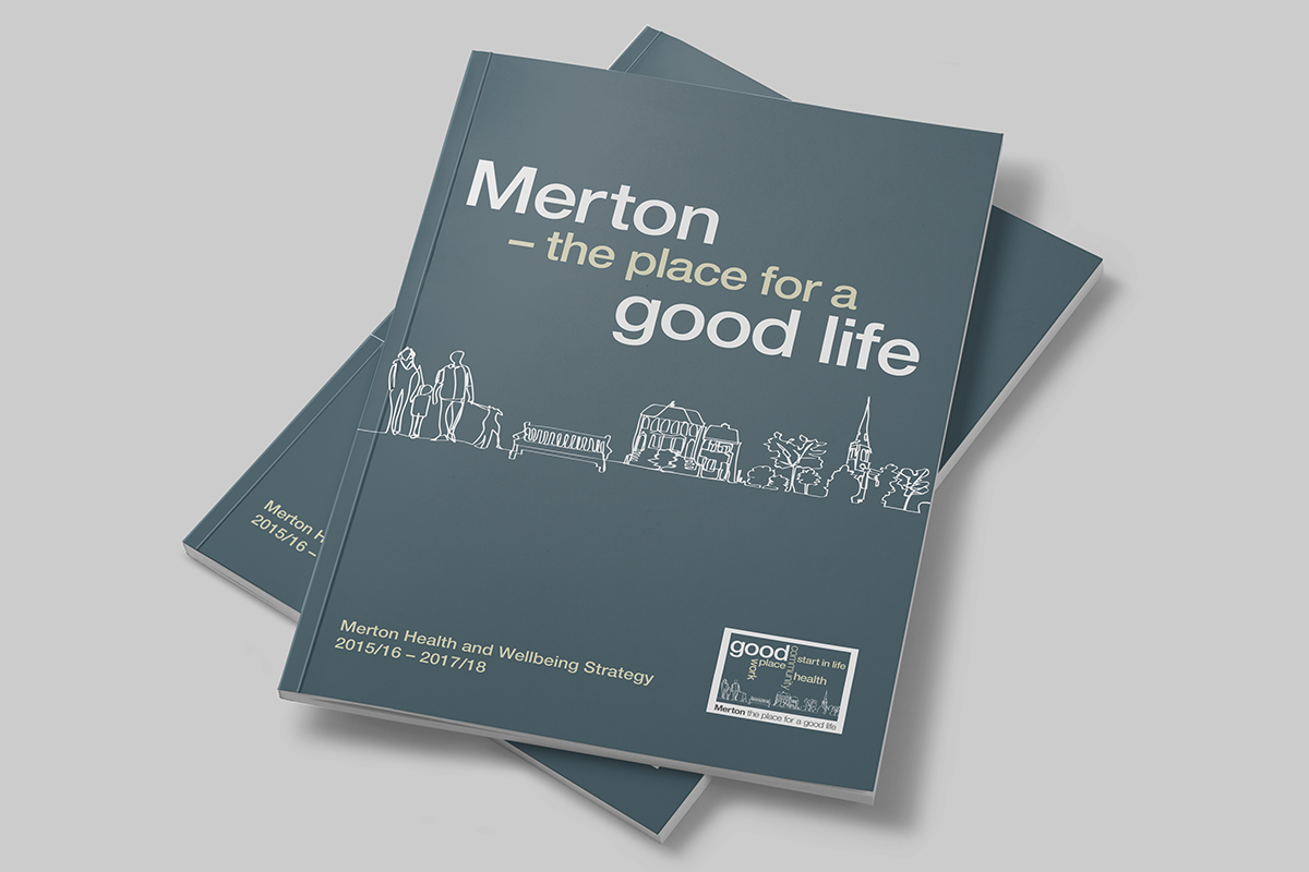 TA2 Design – London Borough of Merton Brochure Cover
