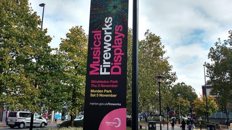 TA2 Design – Merton Borough Banner