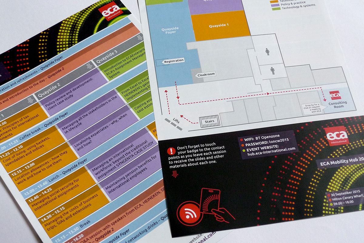 TA2 Design – ECA Mobility Hub Leaflet