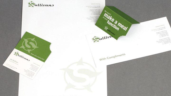 TA2 Design – Sullivans Catering Branding