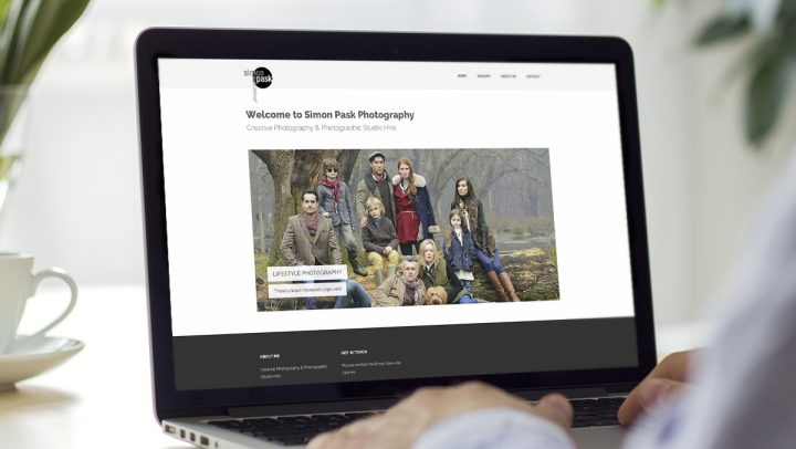 TA2 Design - design and marketing for web – Simon Pask Photography