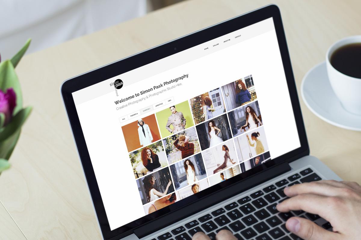TA2 Design - design and marketing for web – Simon Pask Photography