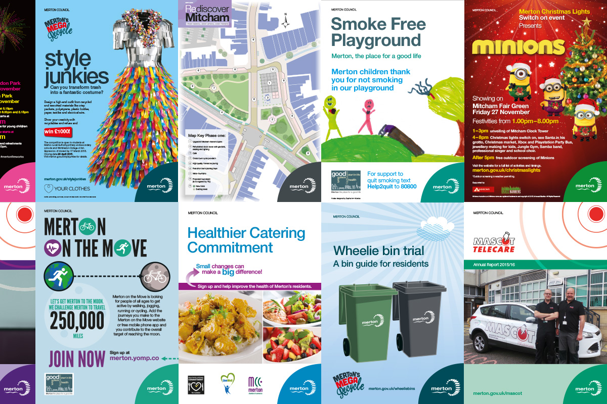 TA2 Design – London Borough of Merton Campaigns
