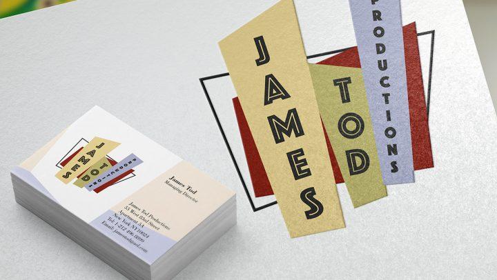 TA2 Design – James Tod Productions Branding