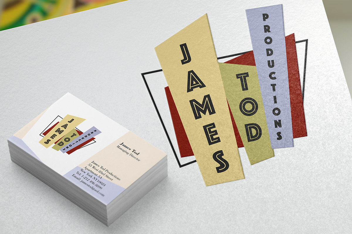 TA2 Design – James Tod Productions Branding