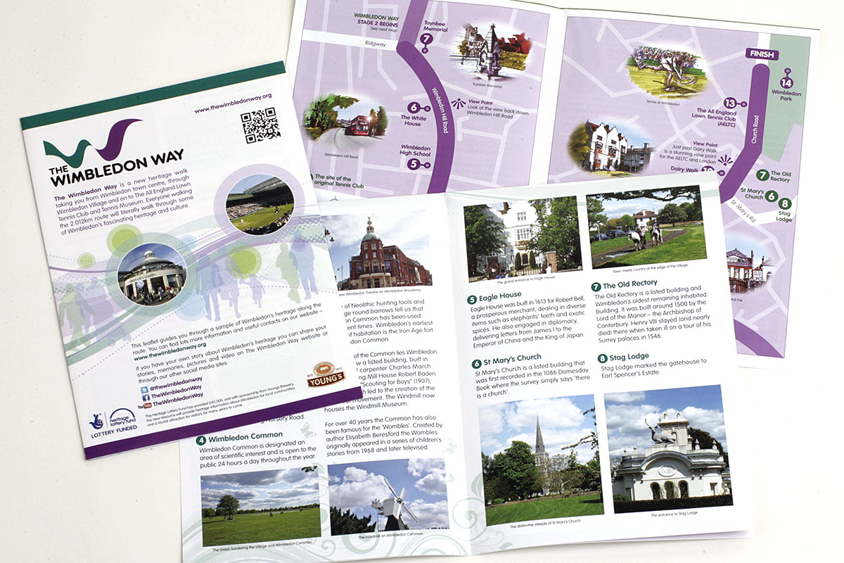 TA2 Design – The Wimbledon Way Brochure