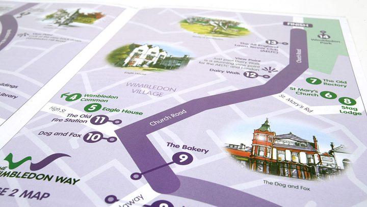 TA2 Design – The Wimbledon Way Brochure